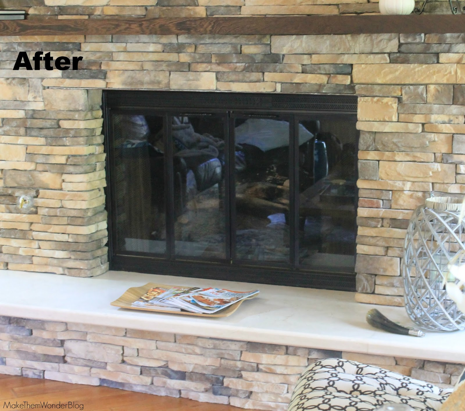 Make Them Wonder How To Paint Your Fireplace Surround