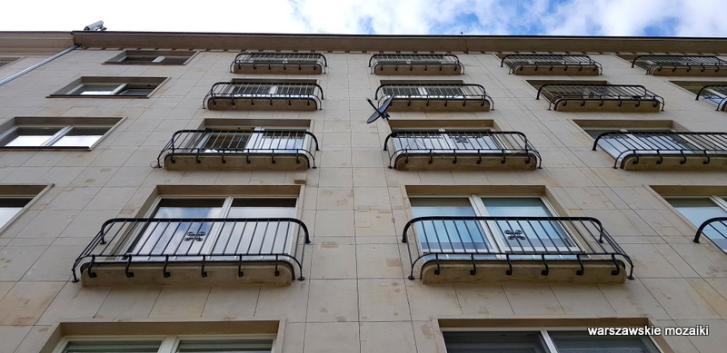 Warszawa Warsaw modernizm art deco architektura sułkowski Horacy Heller KGMO architecture balkon
