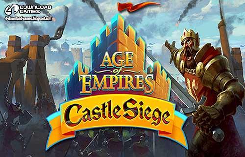 لعبة عصر الامبراطوريات حصار القلعة Age of Empires Castle Siege