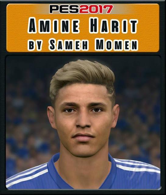 Amine Harit Face PES 2017
