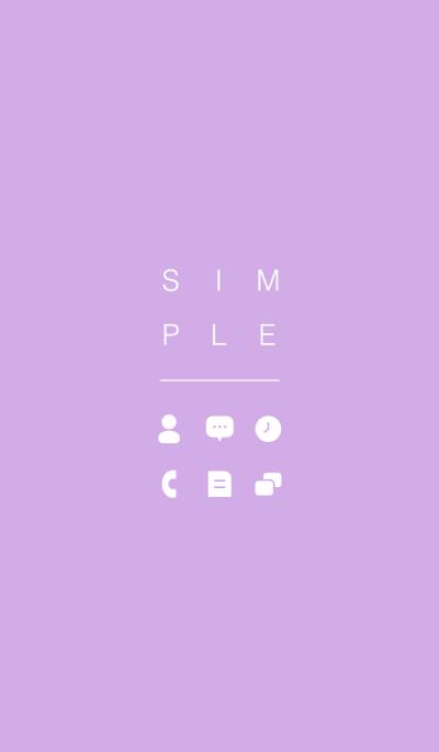 SIMPLE / violet