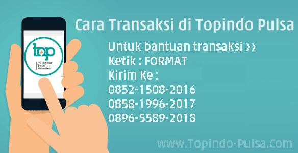 Topindo-Pulsa.Com Format Cara Transaksi Bisnis Jual Pulsa Termurah