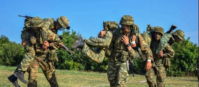 Ο στρατός καλεί για κατάταξη στρατεύσιμους της 2021 Β' ΕΣΣΟ
