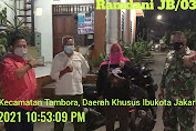 Serka Saragih dan Serda Try Nurhadi Gencar Patroli Ramadhan di Pekojan