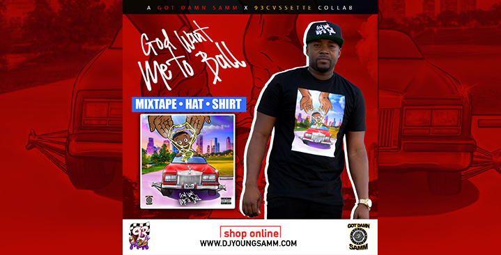 God Want Me To Ball (Merchandise)