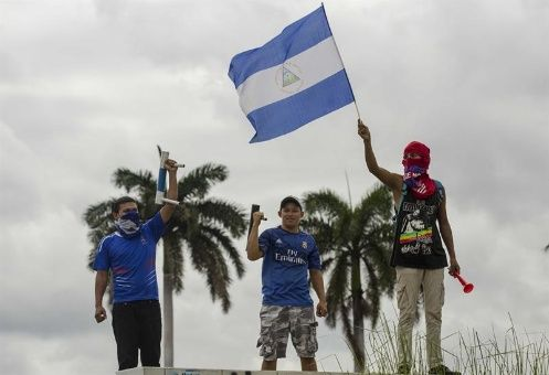 Sigue violencia opositora en Nicaragua pese a llamado a diálogo