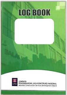 Tampilan cover Log Book