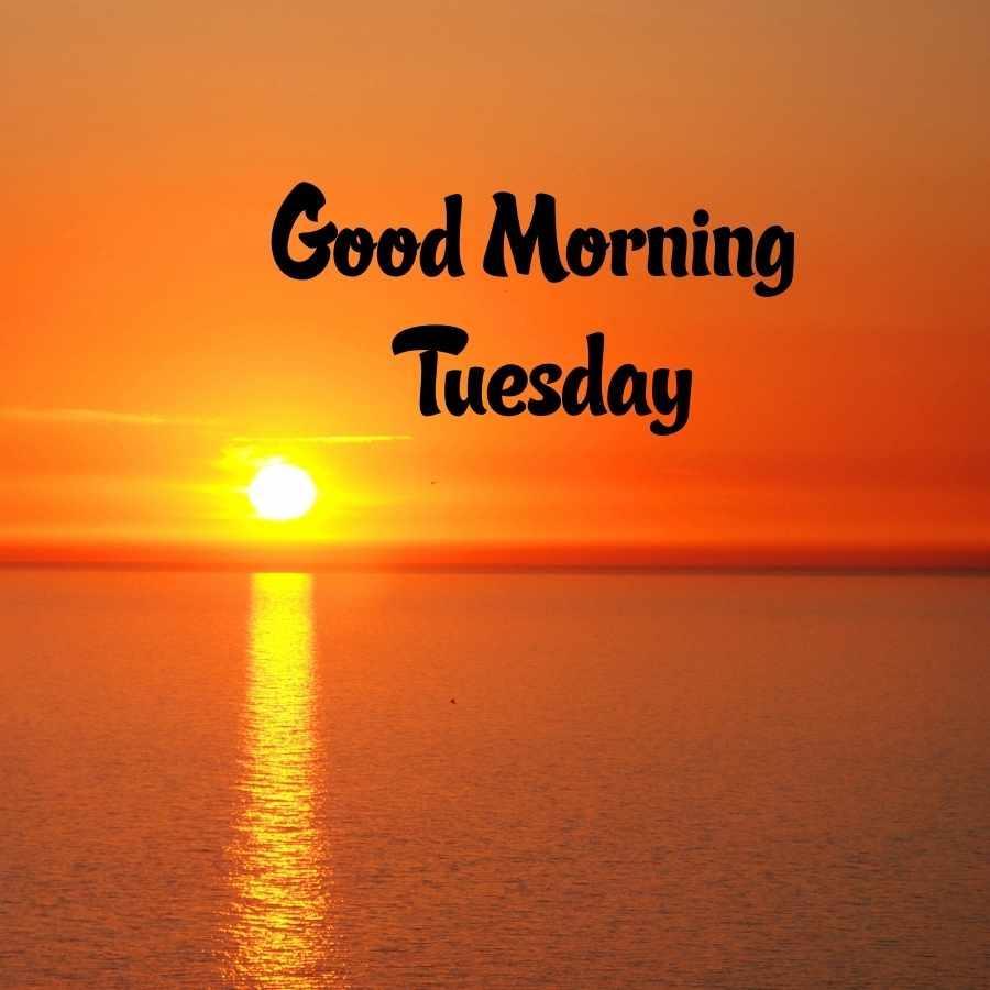 tuesday good morning