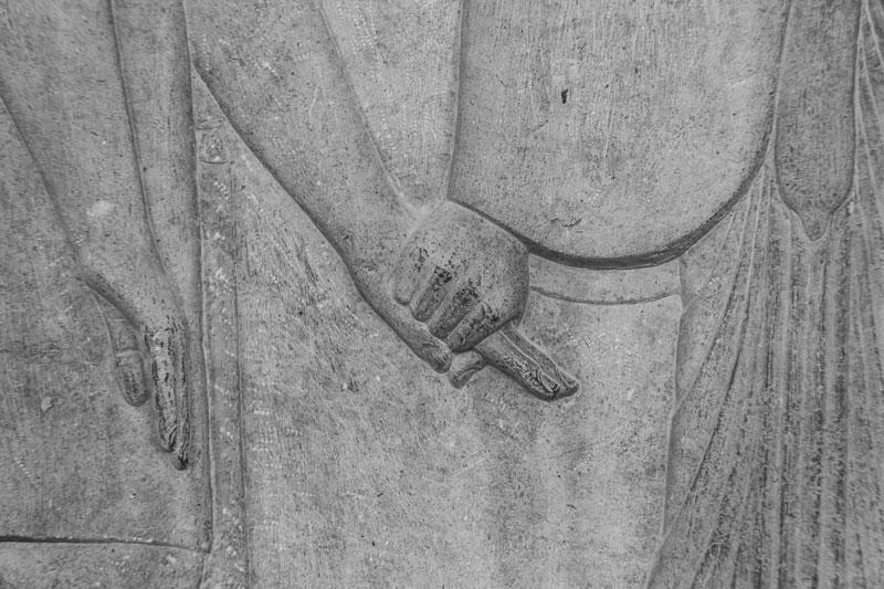 Dettaglio di un bassorilievo di Persepoli