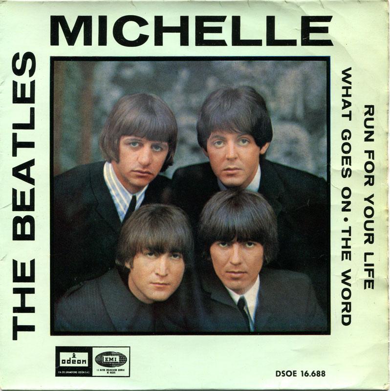 The Beatles Michelle Chords Lyrics Kunci Gitar