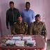 रामगढ़वा :  मुखिया के घर पर छापेमारी कर मादक पदार्थ बनाने वाले सामग्रियों व जहरीले तत्व के साथ मुखिया के भाई को किया गिरफ्तार