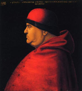 Cardinal Ascanio Sforza has been described as  Machiavellian in his diplomatic skills