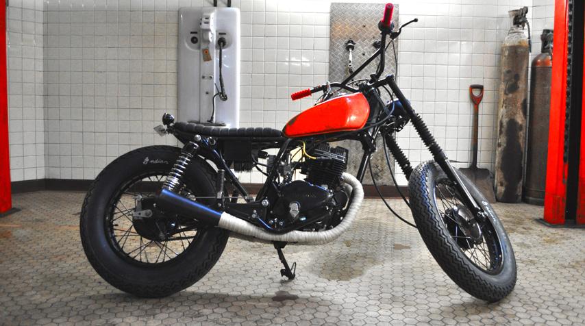 milchapitas kustom bikes honda cm125 by blitz. Black Bedroom Furniture Sets. Home Design Ideas