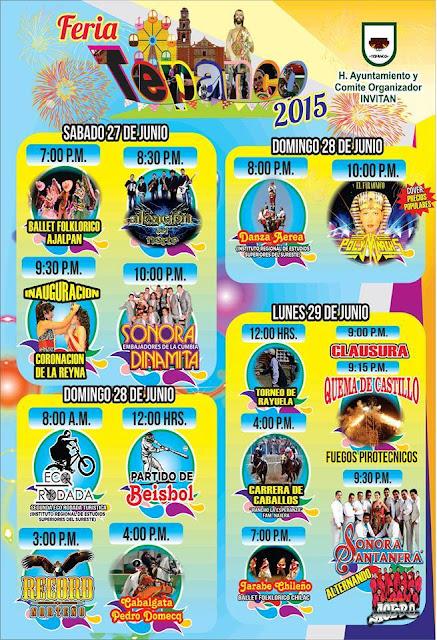 Programa Feria Tepanco 2015