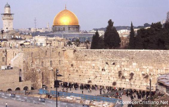 El Muro de los Lamentos en Jerusalén