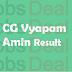 CG Vyapam Amin Result 2017 | Chhattisgarh Amin WRDA17 Cut Off Marks