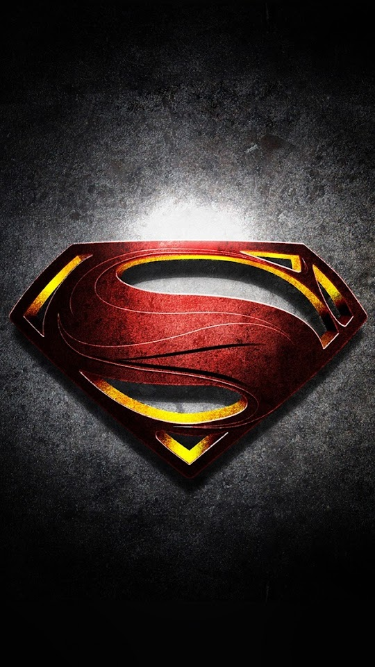 Superman Logo with Noise Background   Galaxy Note HD Wallpaper