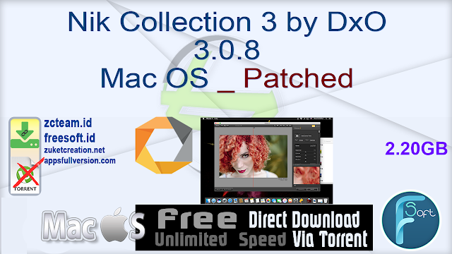 Nik Collection 3 by DxO 3.0.8 Mac OS _ Patched_ ZcTeam.id