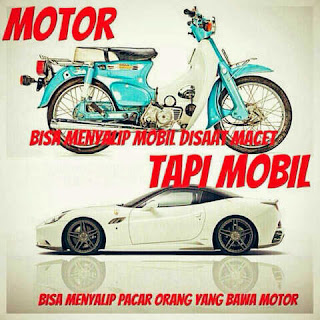 DP BBM Gambar Mobil car funny beli motor mobil salip pacar