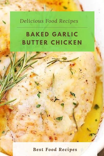 #Baked #Garlic #Butter #Chicken