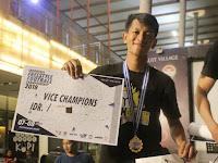 Pemuda Lampung Ini Raih Juara 2 di Kejuaraan Freestyle Tingkat Nasional IFFC 2019, Mantap...!!!