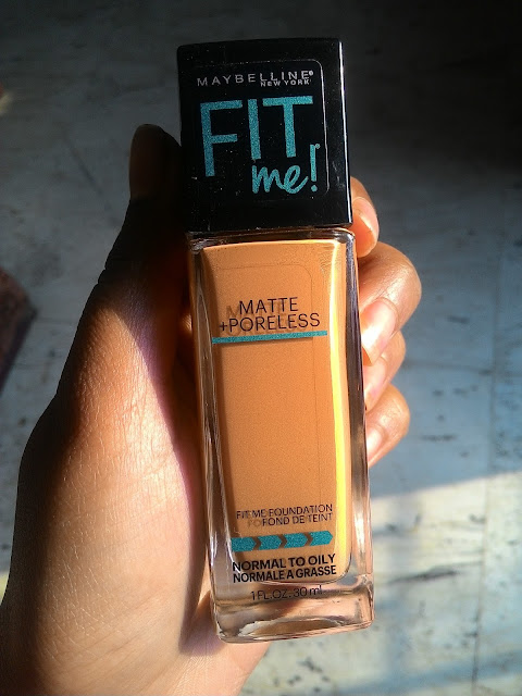Maybelline Fit Me Matte + Poreless Foundation in 330 Toffee Caramel : Review