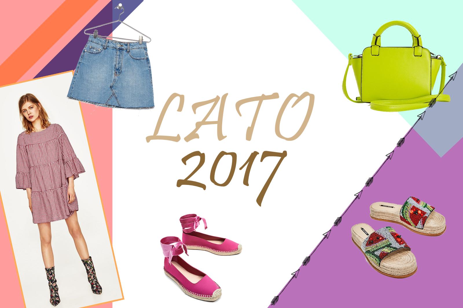 Co modnego w trawie piszczy? Sezon Lato 2017