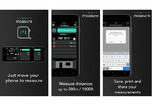 Moasure - Μετρήστε γωνίες και αποστάσεις έως 300 μέτρα με το κινητό σας