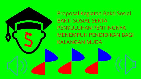 Pdf Contoh Proposal Kegiatan Bakti Sosial Oleh Osis Seputar Proposal