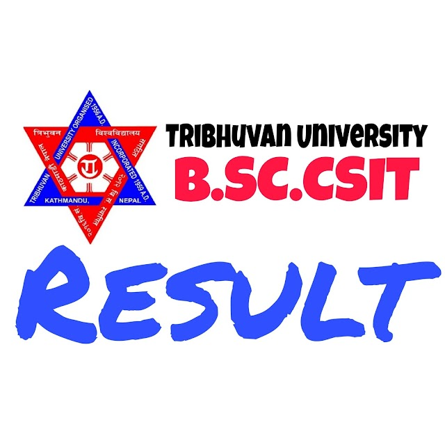 BSc.CSIT 6th Semester Exam result out 2077