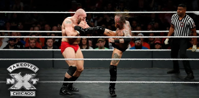Tom Budgen and Dylan Miley in NXT TakeOver: Chicago II (2018)