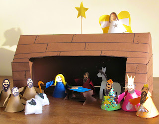 Nativity scene - Christmas craft