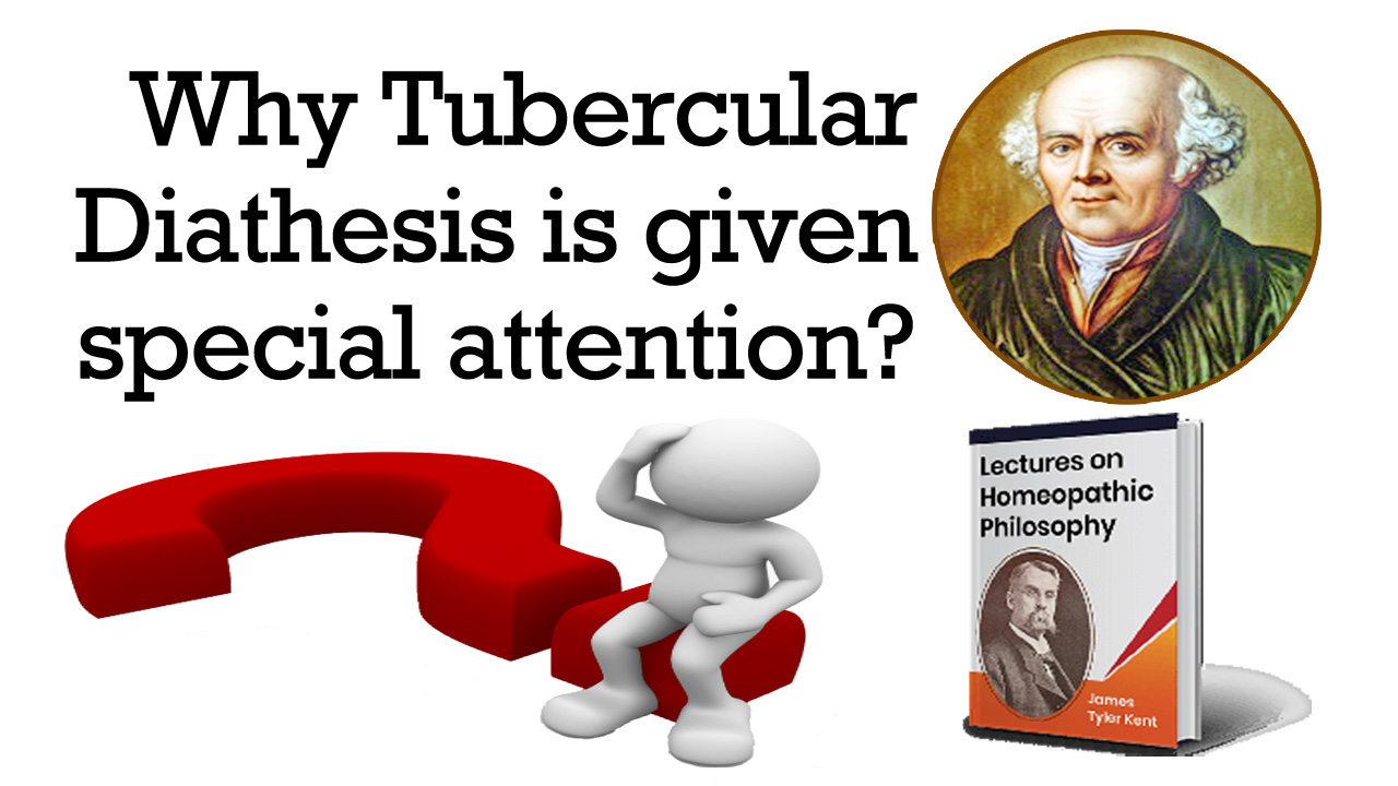 Why Tubercular Diathesis is given special attention?