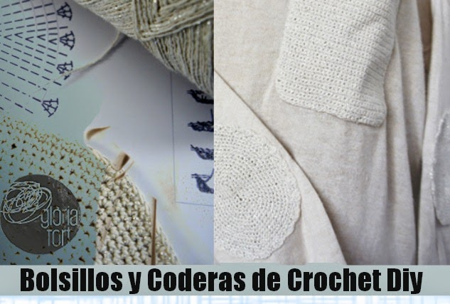 Coderas y Bolsillos a Crochet Tutorial