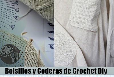 Coderas y Bolsillos a Crochet Tutorial