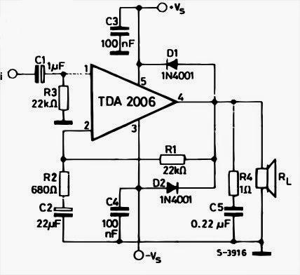 12W AUDIO AMPLIFIER ~ AmplifierCircuits.com