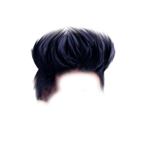 Unique CB Hairstyle PNG Free Stock Image [ Download Now ]