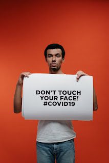 STAY HOME SAVE LIVES - DONT TOUCH YOUR FACE - COVID 19