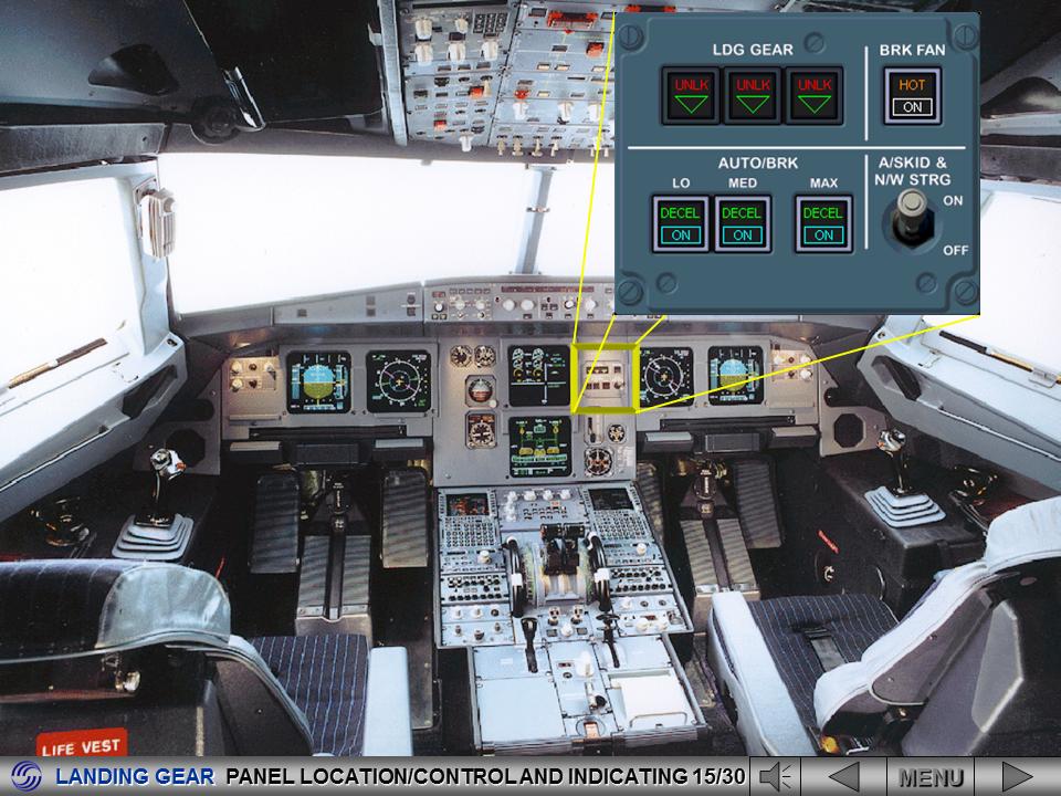 Aviation Legislation: A320 Series Landing Gear System Presentation