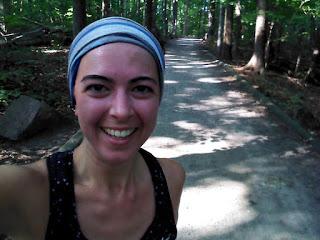 Parc-nature du Bois-de-Liesse forêt coureuse heureuse