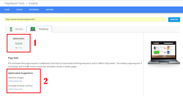 Cek Kecepatan Website di Google PageSpeed Insights
