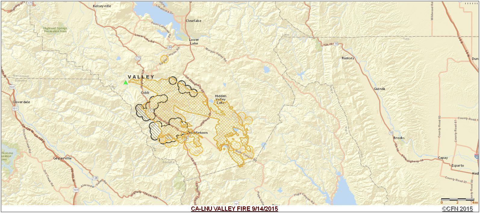 Cfn California Fire News Cal Fire News 9 1 15