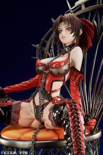 Black Lagoon – Revy Scarlet Queen Ver. PVC, Medicos Entertainment