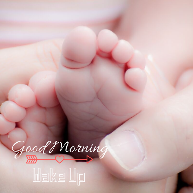 Cute  Baby Leg Good Morning Images