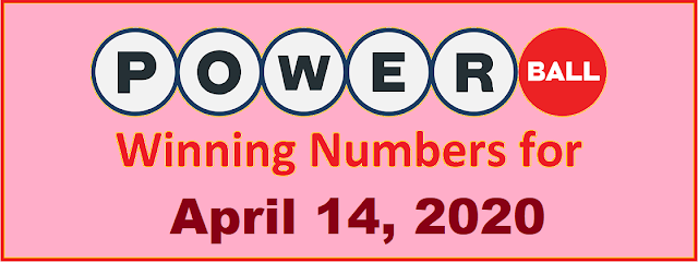 PowerBall Winning Numbers for Wednesday, April 14, 2021