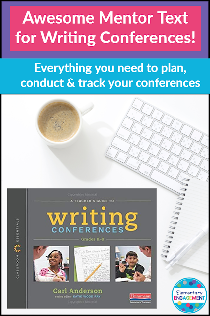 A Teacher's Guide to Writing Conferences provides lots of information and resources to help you organize, conduct, and track your writiing conferences.
