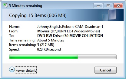 How to Rewrite a DVD-RW