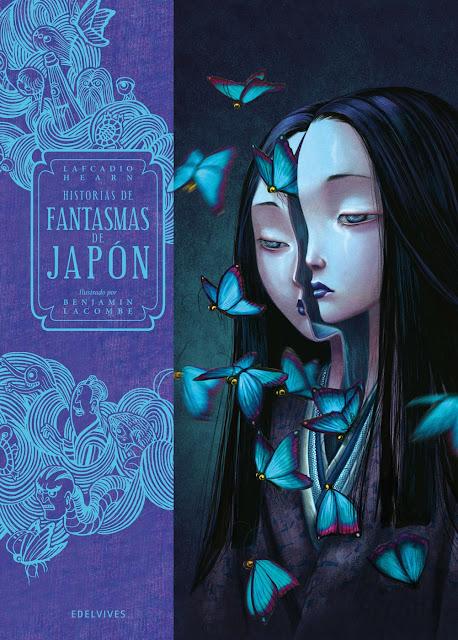 Benjamin Lacombe Portada del Libro historias de fantasmas de japón