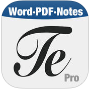 Textilus_Pro_-_Microsoft_Office_Word_Edition_on_the_App_Store 9 Best Writing Apps for iPad & iPhone 2018 Technology