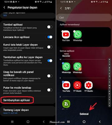 Menyembunyikan Aplikasi di HP Android